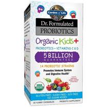 Probioticos Para Niños 5 Billones Graden Of Life 30 Pastilla