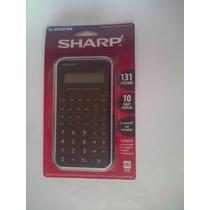 Calculadora Cientifica Sharp El-501xb-wh Negra