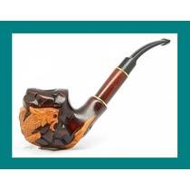 Pipa Madera Fumar Tabaco Dragon Fire Rusia