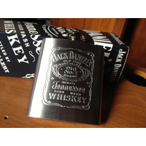Licorera Jack Daniels Promocional Whisky Anforita 8 Oz Nueva