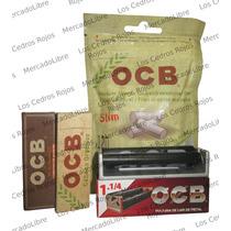 Roladora Ocb + Ocb Virgin + Ocb Organic + Filtros Ocb.