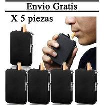 Cigarrera Con Encendedor Para 10 Cigarros Envio Gratis 5 Pzs