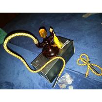 Mini Hookah Ambar De 2 Mangueras Tradicional Vidrio Soplado
