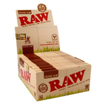 Caja De Papel Arroz Raw Organic King Size Slim