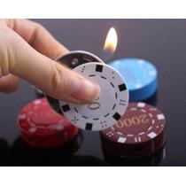 Encendedor E Forma De Ficha De Poker
