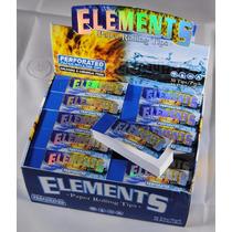 15 Paquetes Filtros Cartón Elements Perforados Premium Roll