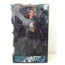 No Hot Toys Terminator T2 T-800 12 Final Battle Neca