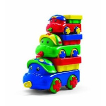 Trio De Trabajo Volquetes Por Discovery Toys