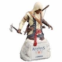 Connor Collectible Bust Assassins Creed Iii Nuevo/sellado