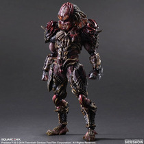 Predator Variant Collectible Figure Play Arts Kai Ig Comics