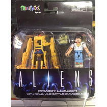 ### Diamond Minimates Aliens Power Loader With Ripley ###