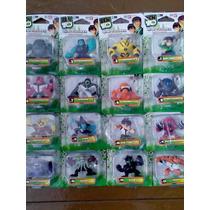 Ben 10 Serie Con 16 Figurines Entrega Inmediata Oferta !!!