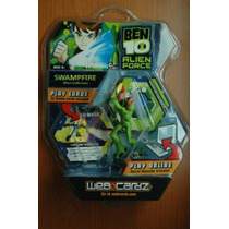 Ben 10 Alien Force Play Cards Swampfire