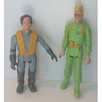 Cazafantasmas Ghostbusters Egon Spengler Y Peter Venkman Set