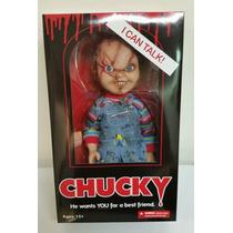Muñeco De Chucky De 15 Pulgadas Mezco Nuevo Y Habla Oferta