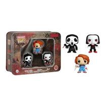 Chucky, Gostface Y Más Mini Funko Pop!