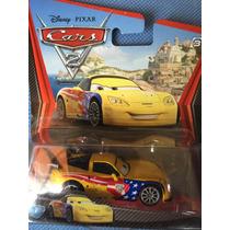 Cars 2 Carrito Metal Colección #7 Escala 1:55 Disney