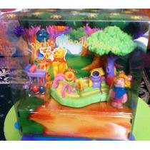Winnie Pooh Gran Set En Miniatura De Piglet