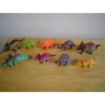 10 Mini Dinosaurios Miden De 4 A 6 Cms