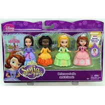 Disney Sofia The First 3 Figura 4-pack - Princesa Sofía Rub