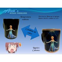 Taza Magica Elsa Frozen