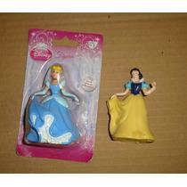 Princesa La Cenicienta Y Blancanieves Figurin Disney Bestway