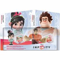 Disney Infinity , Ralph El Demoledor , Ralph Y Vanellope