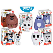 Max Perro Funko Pop Pelicula Mascotas Pets