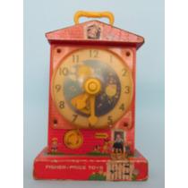 Reloj Didactico Musical Madera Fisher Pirce 1964 Drecuerdo