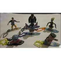 6 Figuras Con Tabla Surf Personajes Lilo & Stitch Mcdonalds
