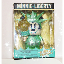 Minnie Liberty New York / Disney Vinylmation /nuevo/luminoso