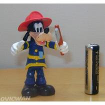 Figura De Tribilín Bombero Goofy De Disney Dy23