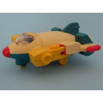 Juguete Antiguo Playskool Avión Transformer 1986 Drecuerdo
