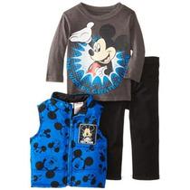Mickey Mouse 3 Piezas Disney Niños Bebés