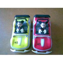 Lote De 2 Carros De Mickey Mouse