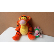 Peluches Tiger Y Piglet Lote 2 Disney Winnie Poh