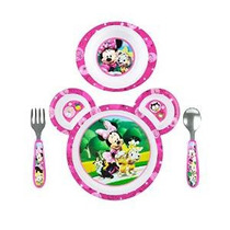 Los Primeros Años Disney Baby Minnie Mouse 4 Piezas Alimenta