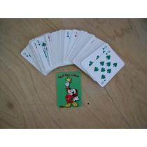 Mickey Mouse Lote De 3 Juegos De Cartas