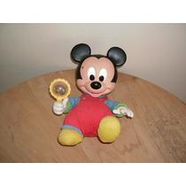 Mickey Mouse Con Sonaja