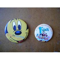 Mickey Mouse Lote De 2 Botones