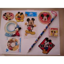 Mickey Mouse Lote De 9 Piezas