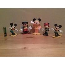 Figuras Mickey Mouse Y Minnie 3 X 120