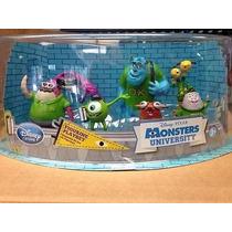 Play Set Monsters Universi Disney Store Cumpleaños Importado