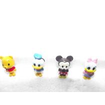 Mini Figuras De Mickey, Donald, Daisy, Pooh Baby 4 Piezas