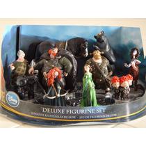 Figurines Merida Brave Valiente De Lujo 10 Pz Fergus