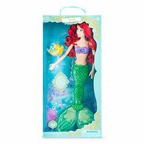 Muñeca Deluxe Ariel Canta E Ilumina 43 Disney Store 2015