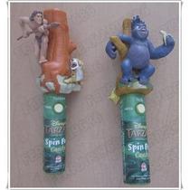 Figura Spin Pop Tarzan Y Terk * Solo Adorno - No Funcionan