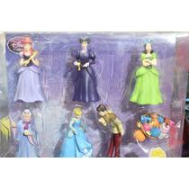 Disney Set De Figuras De Cenicienta
