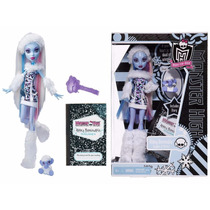 Abbey Bominable Diario Mascota Monster High