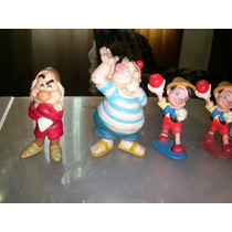 Disney Figuras Pinocho, Peter Pan, Dale Blanca Nieves